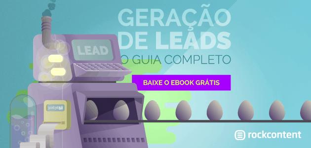 Geração de Leads ebook