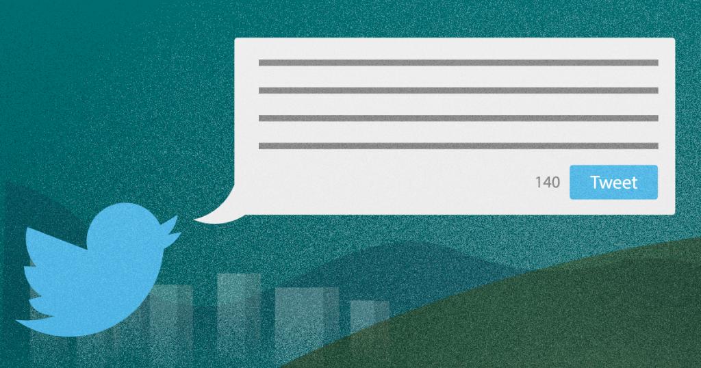 Como escrever um tweet