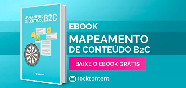 Ebook Mapeamento de Conteúdo B2C