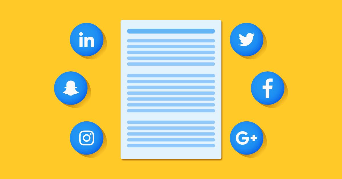 Produção de conteúdo para redes sociais