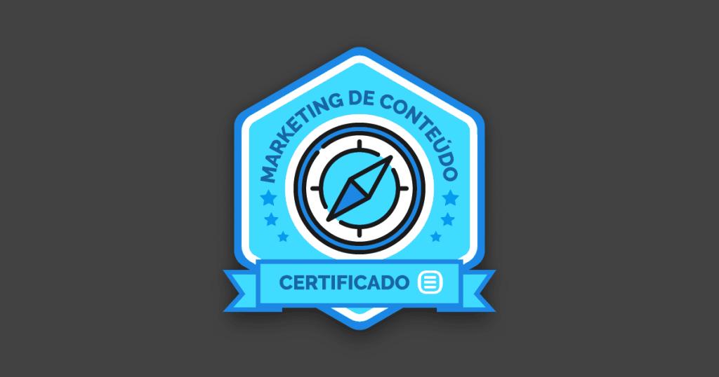 Certificação em Marketing de Conteúdo