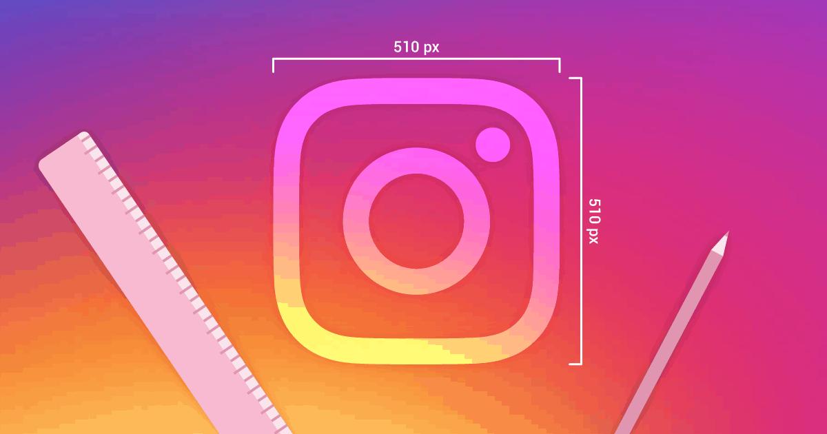 tamanho de imagens no instagram