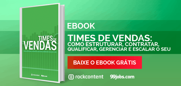 Times de vendas: ebook