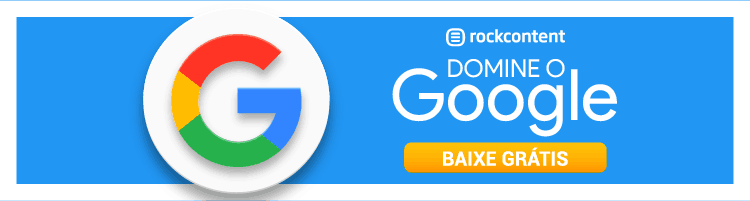 CTA de download para o kit: Domine o Google