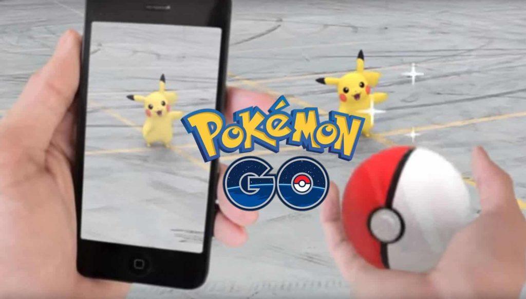 pokemon go no marketing: Pikachu