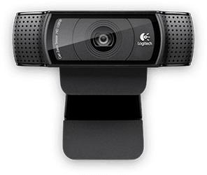 como produzir um vídeo: Logitech C920 HD Pro