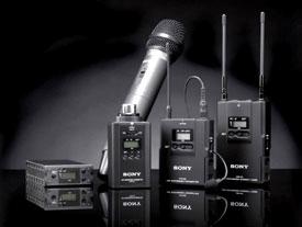 como produzir um vídeo: microfone lapela Sony UWP-V1