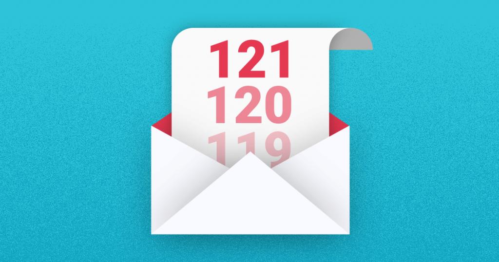 Homem apresentando estatísticas de email marketing