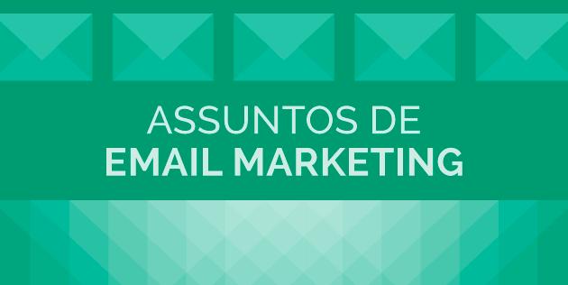 assunto email marketing