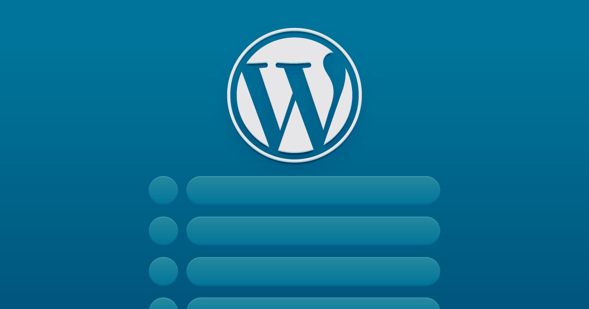 Indice no Wordpress