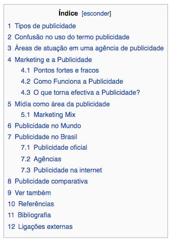 indice no wordpress