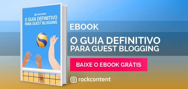 Guia completo para Guest Blogging ebook
