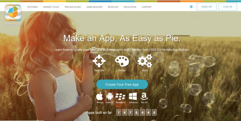 como criar um aplicativo