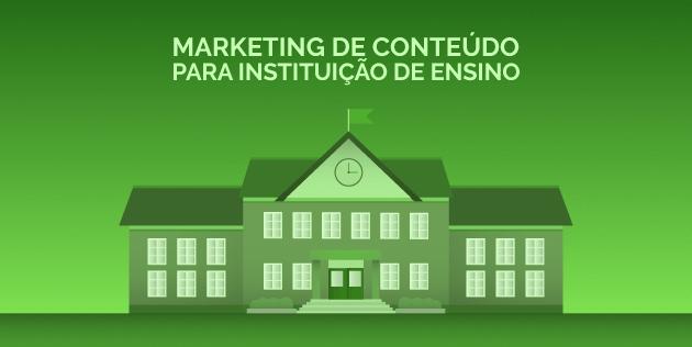 marketing de conteudo para instituição de ensino