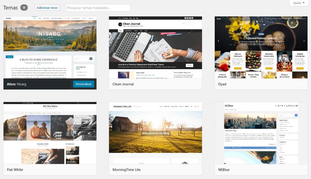 como criar um site