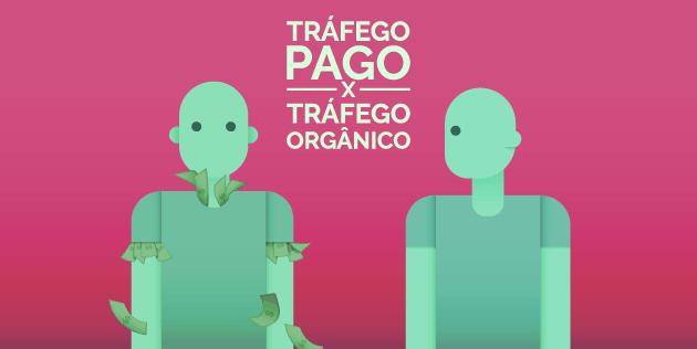 tráfego pago ou tráfego orgânico