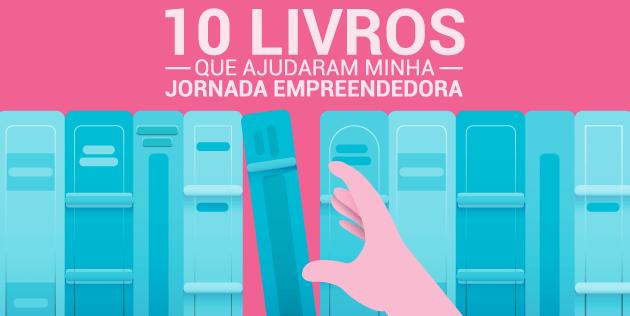 livros que ajudaram minha jornada empreendedora