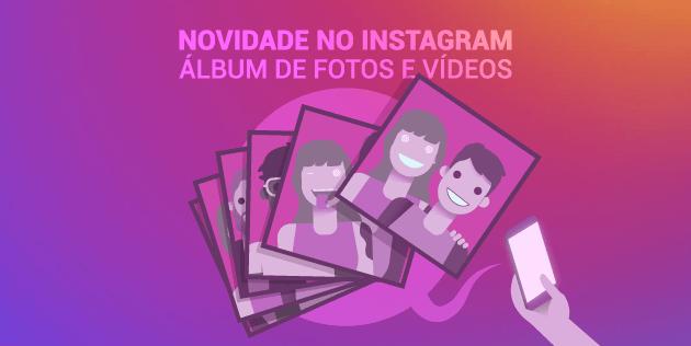 álbum no instagram