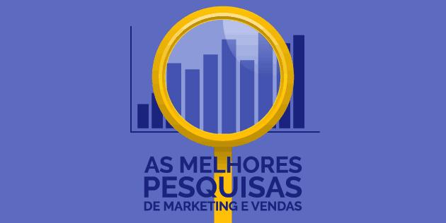melhores pesquisas de marketing e vendas
