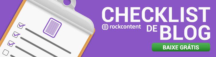 mini checklist de blog