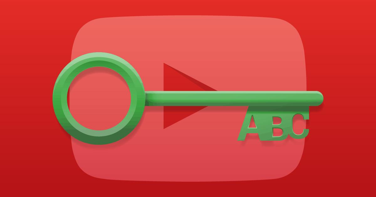 Palavras-chave para o youtube