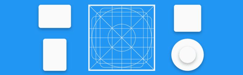 Material Design - Formatos de ícones