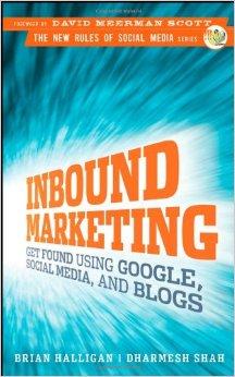 Capa do livro Inbound Marketing - Brian Halligan e Dharmesh Shah