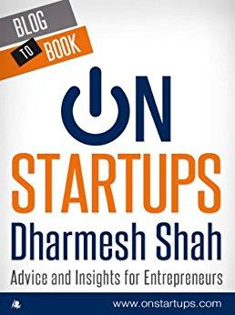 Livro On Startups de Dharmesh Shah