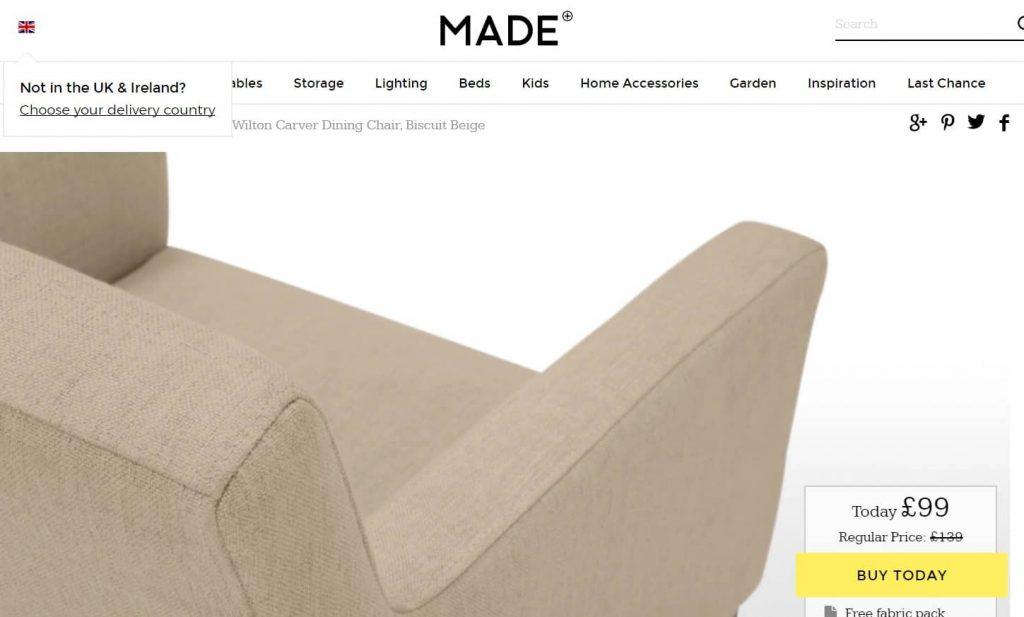 Guia prático para imagens no ecommerce: sofá