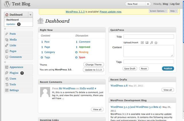 Versão 3.0 do WordPress