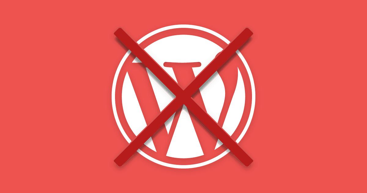 Como excluir um blog