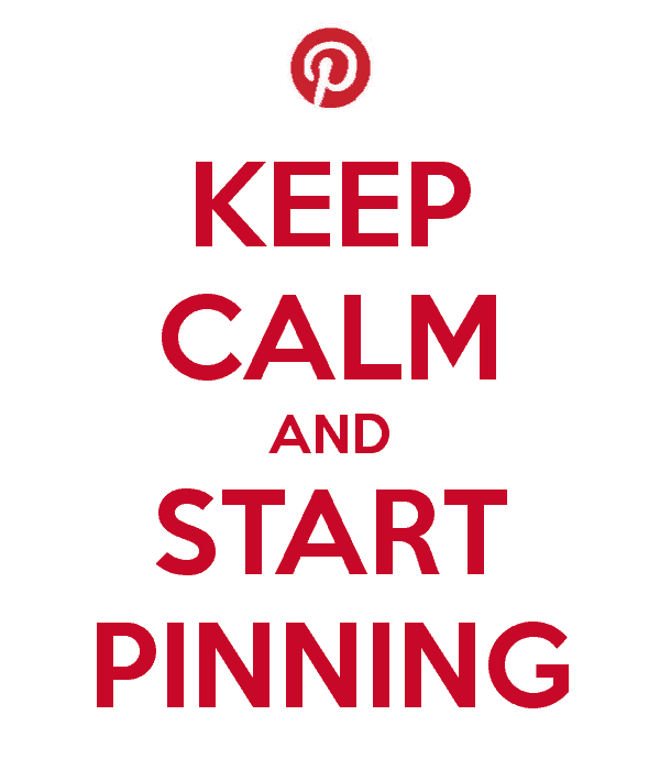 Keep calm and start pinning