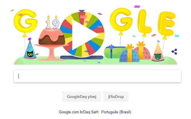 novas linguas do google