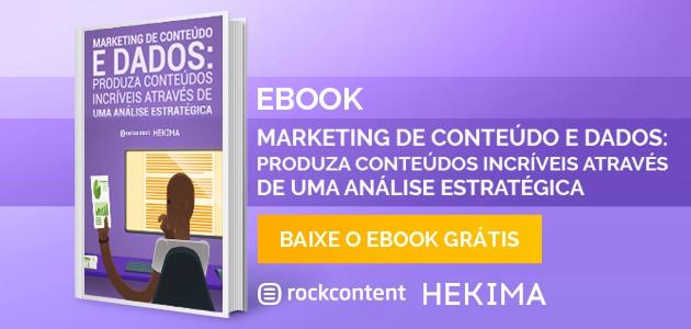 Ebook Marketing de Conteúdo e Dados