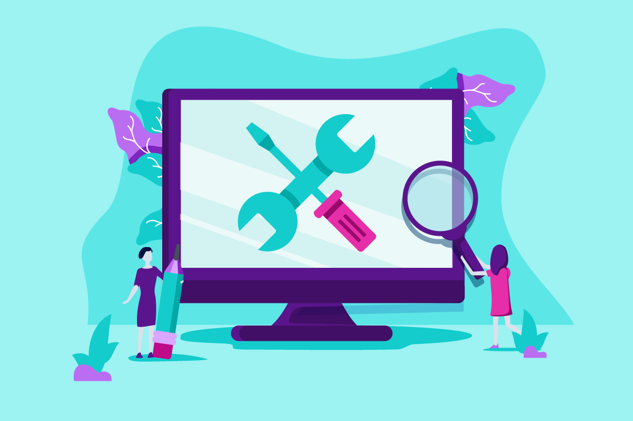 ilustração sobre ferramentas para agências