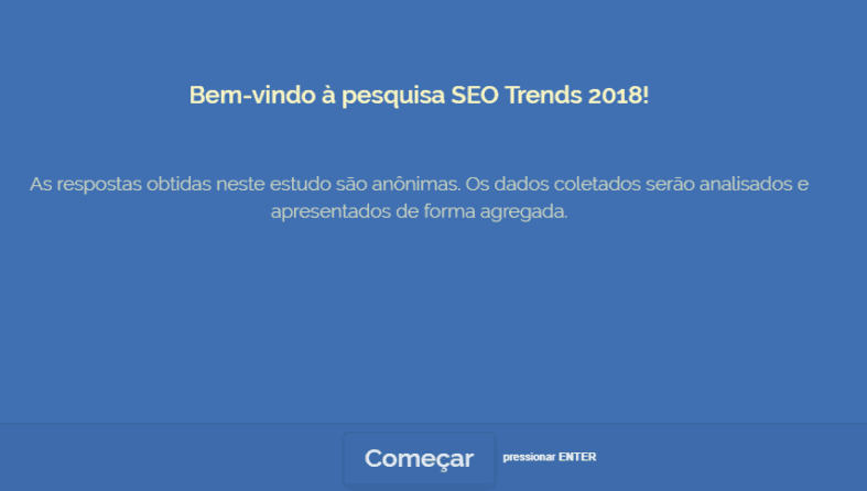welcome screen seo trends 2018