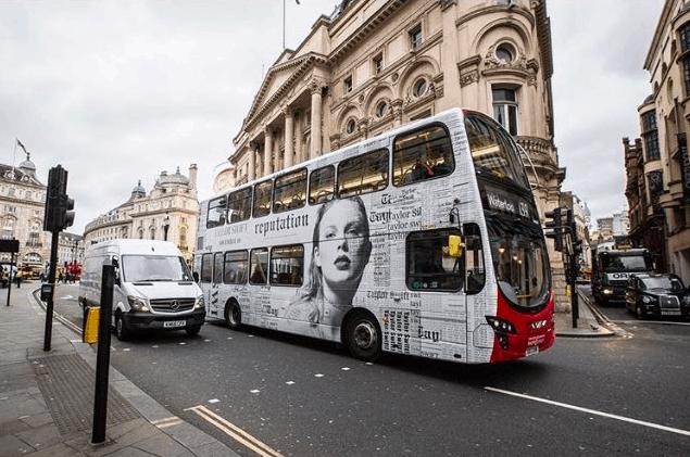 Taylor Swift bus