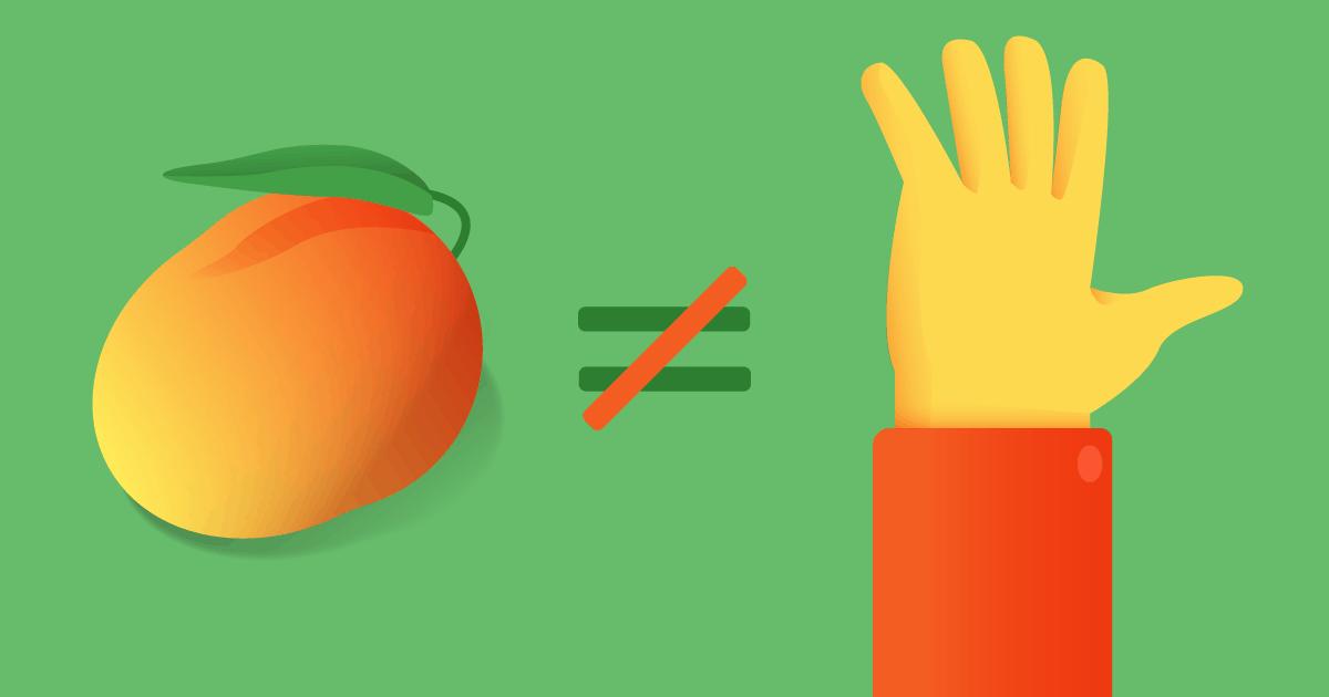 Manga de camisa vs manga fruta