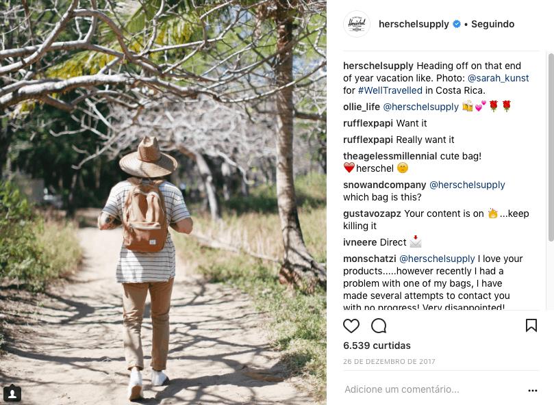 Herschel Instagram