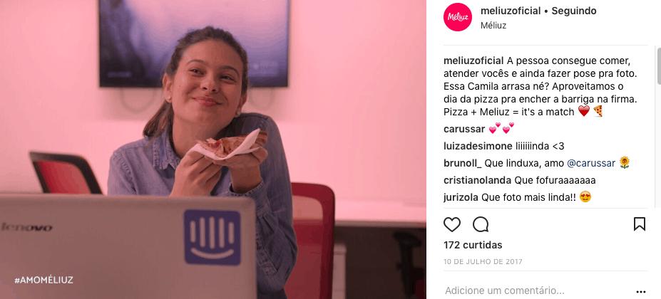 Méliuz Instagram