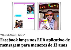 Notícia Facebook