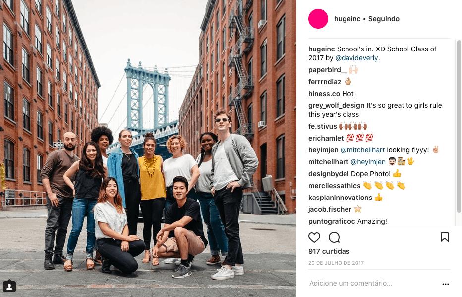 Huge Instagram
