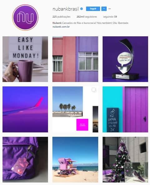 Instagram da Nubank Brasil