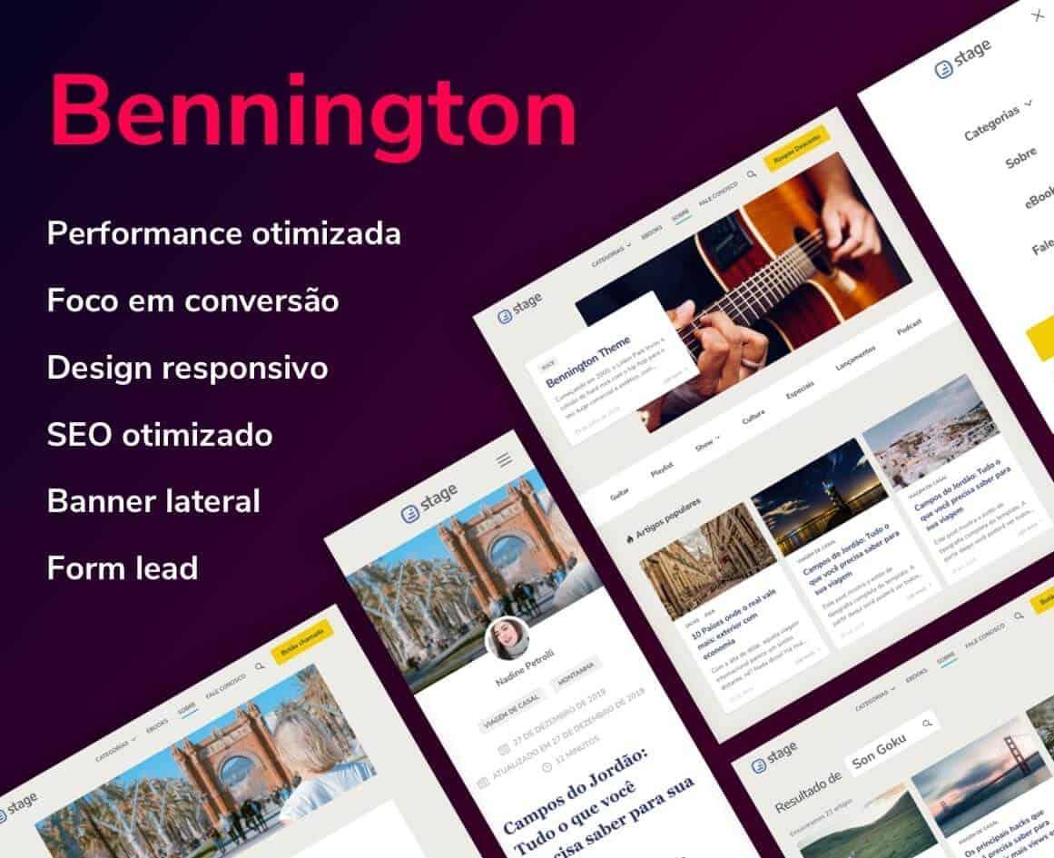 Bennington WordPress