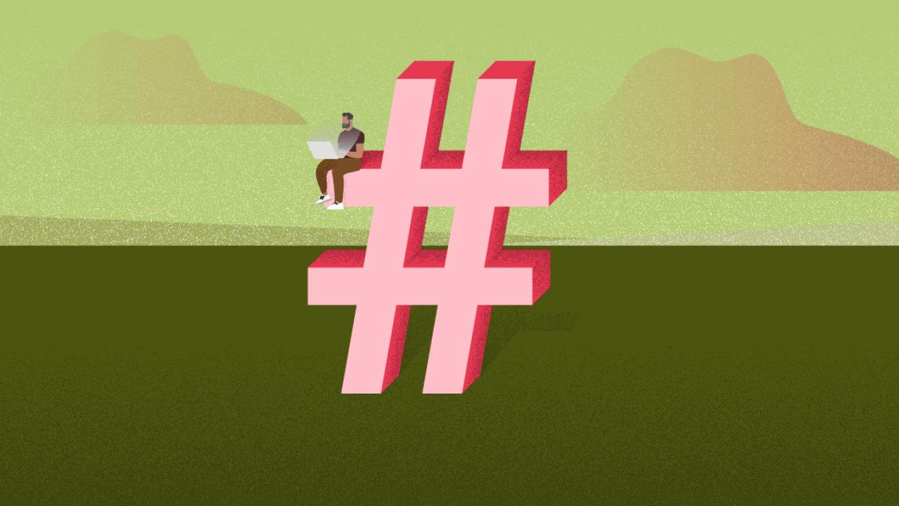Hashtag (#)
