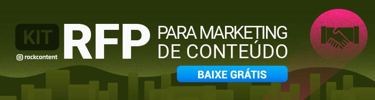 RFP para Marketing de Conteúdo