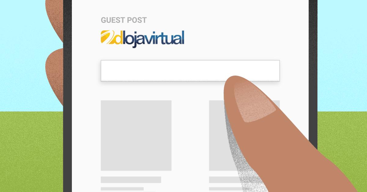 loja física e loja virtual