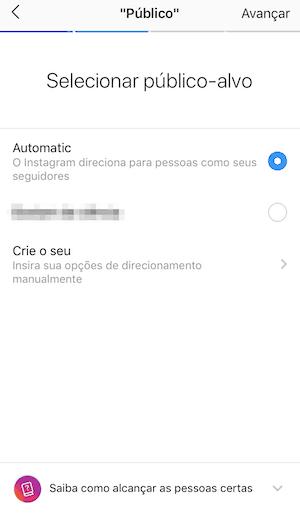 Instagram Ads: Público