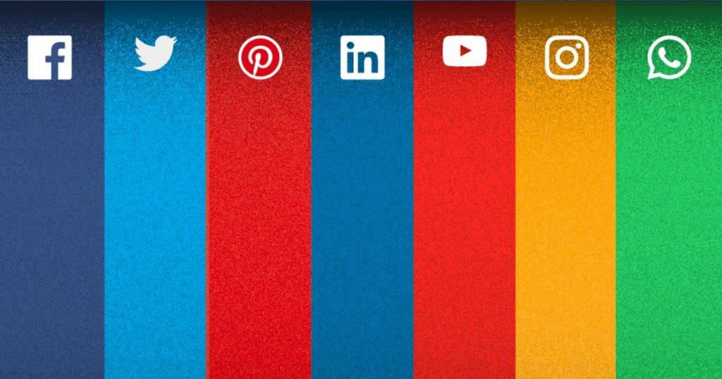 Tamanhos de imagens em redes sociais