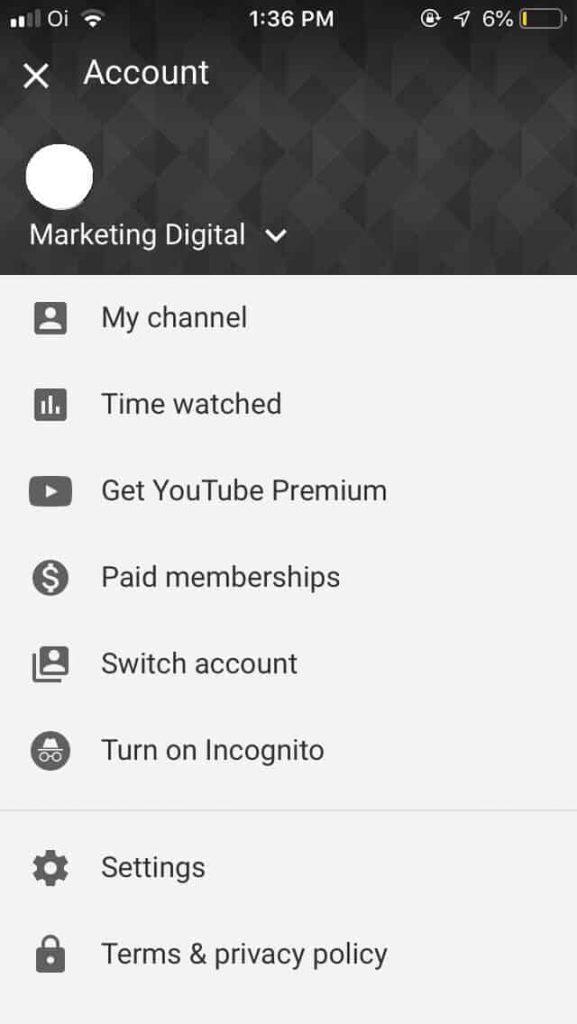 mudar nome do canal do Youtube 4